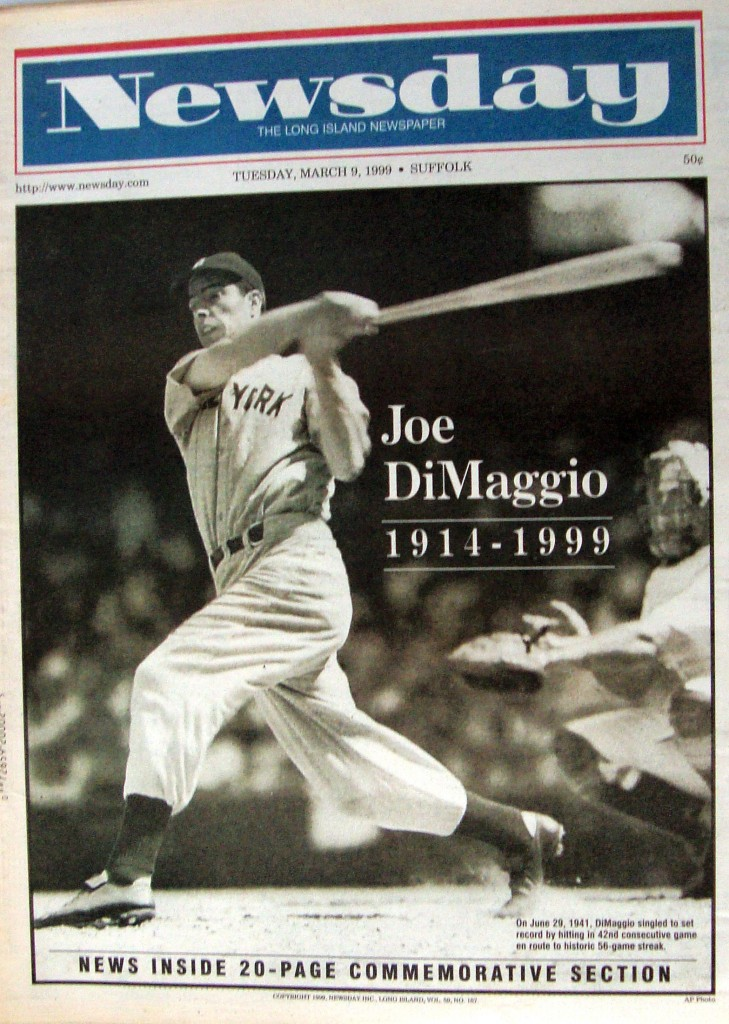 Joe DiMaggio Newspaper Museum