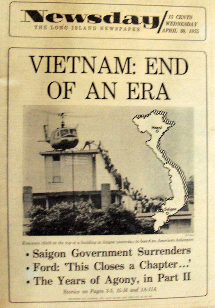 "Vietnam - ""The End Of An Era"" Newspaper"