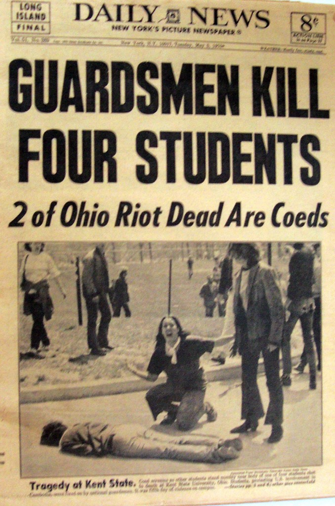 National Guardsmen Kill Students In Kent State Newspaper Museum